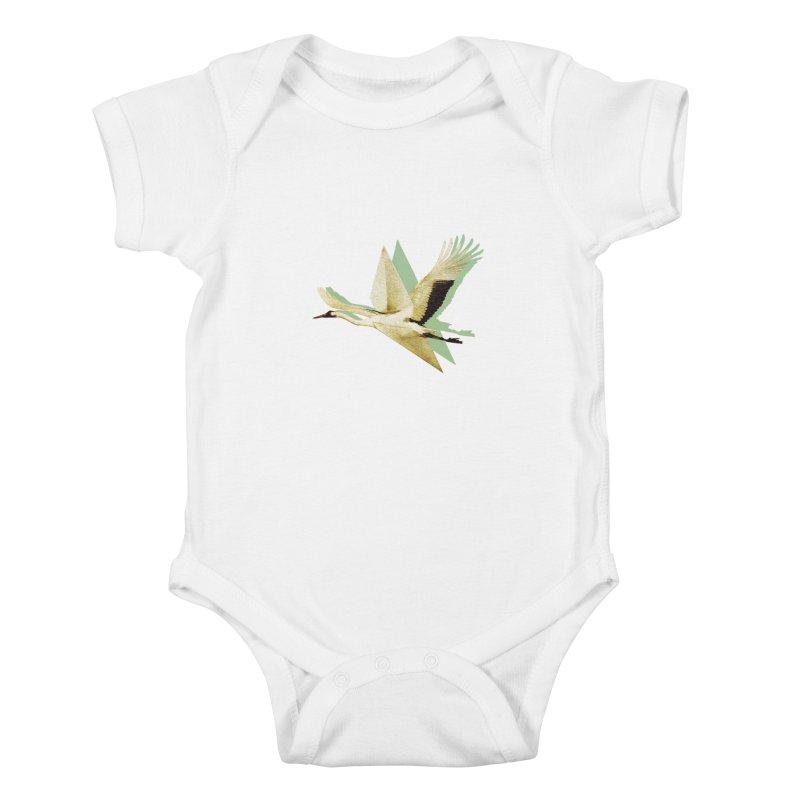 Paper Crane Kids Baby Bodysuit by AlmostGone