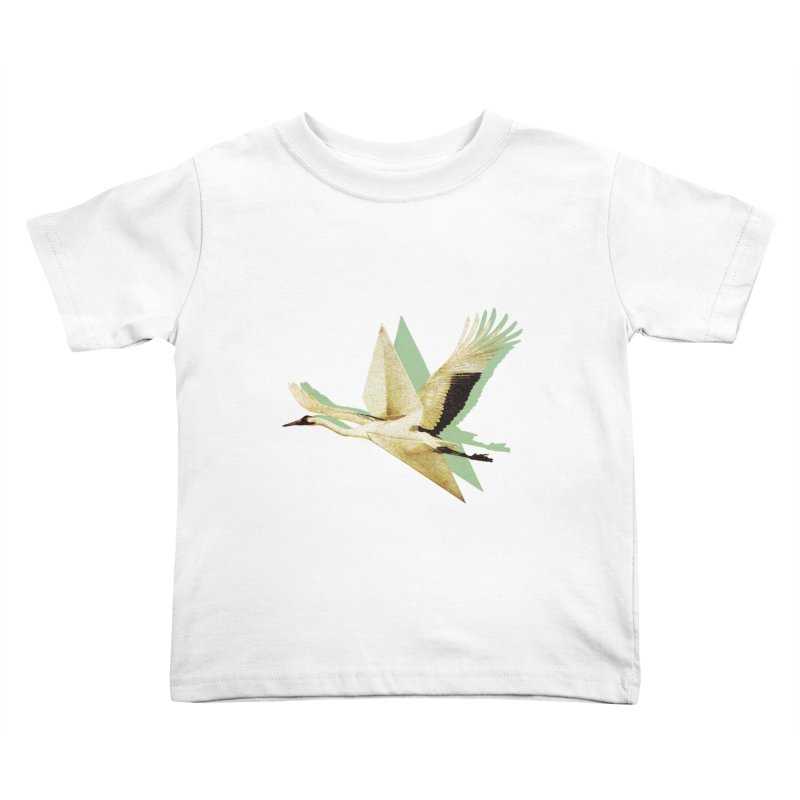 Paper Crane Kids Toddler T-Shirt by AlmostGone