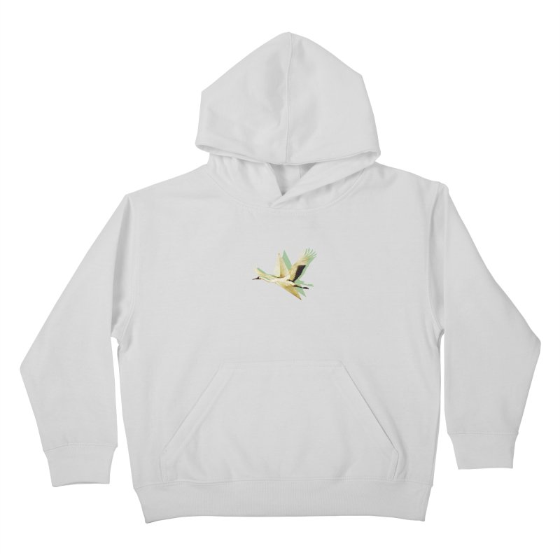Paper Crane Kids Pullover Hoody by AlmostGone