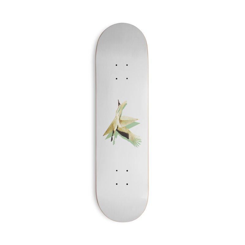 Paper Crane Accessories Skateboard by AlmostGone