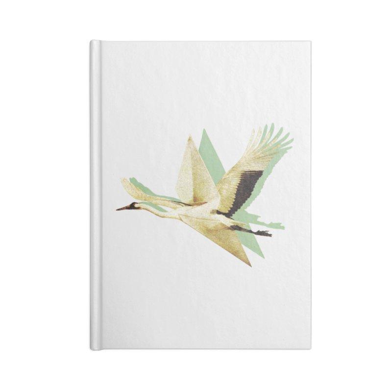 Paper Crane Accessories Notebook by AlmostGone