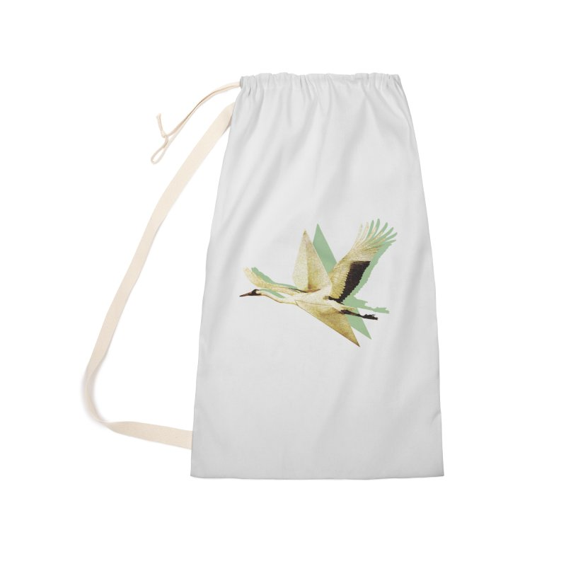 Paper Crane Accessories Bag by AlmostGone