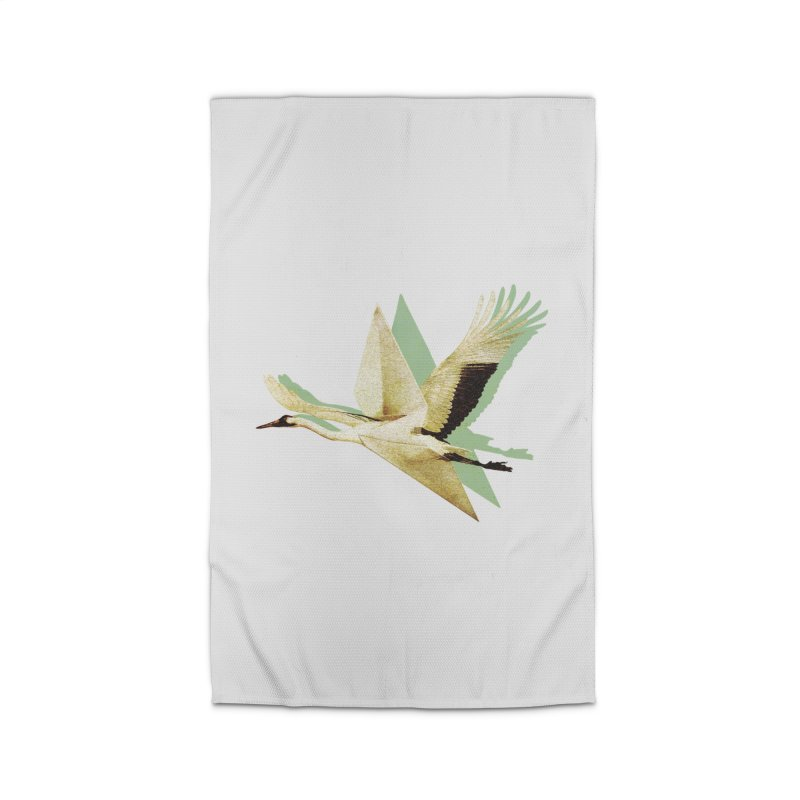 Paper Crane Home Rug by AlmostGone