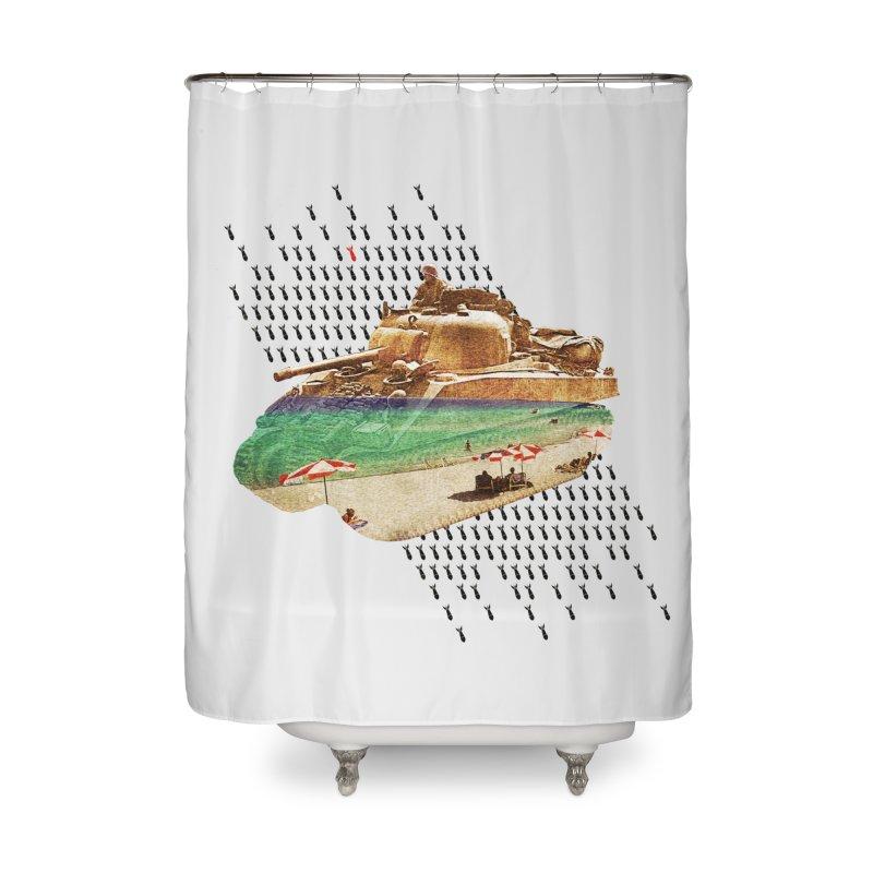 Beach Head Home Shower Curtain by AlmostGone