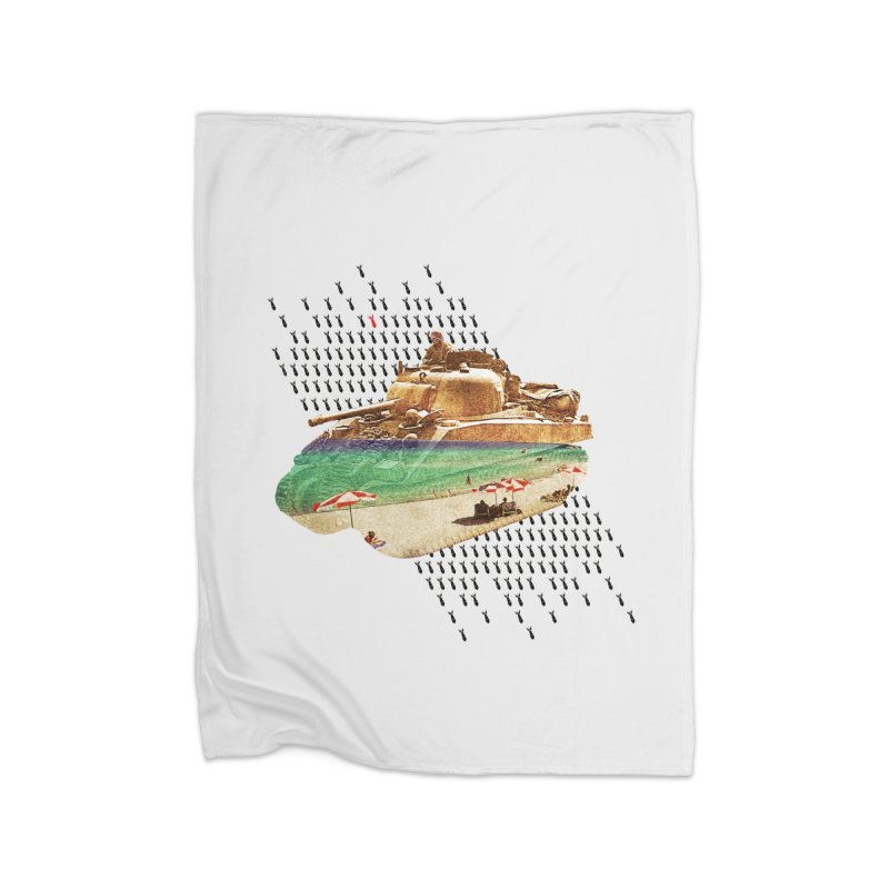 Beach Head Home Blanket by AlmostGone