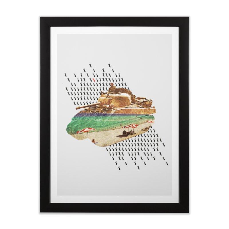 Beach Head Home Framed Fine Art Print by AlmostGone
