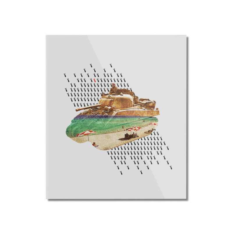 Beach Head Home Mounted Acrylic Print by AlmostGone