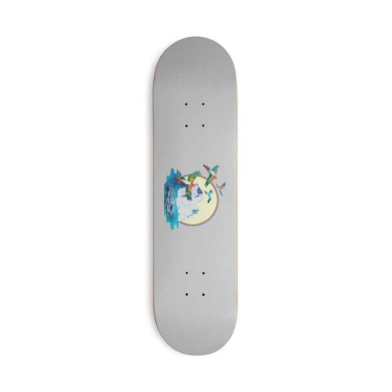 Disoriented Parrots 1 Accessories Skateboard by AlmostGone