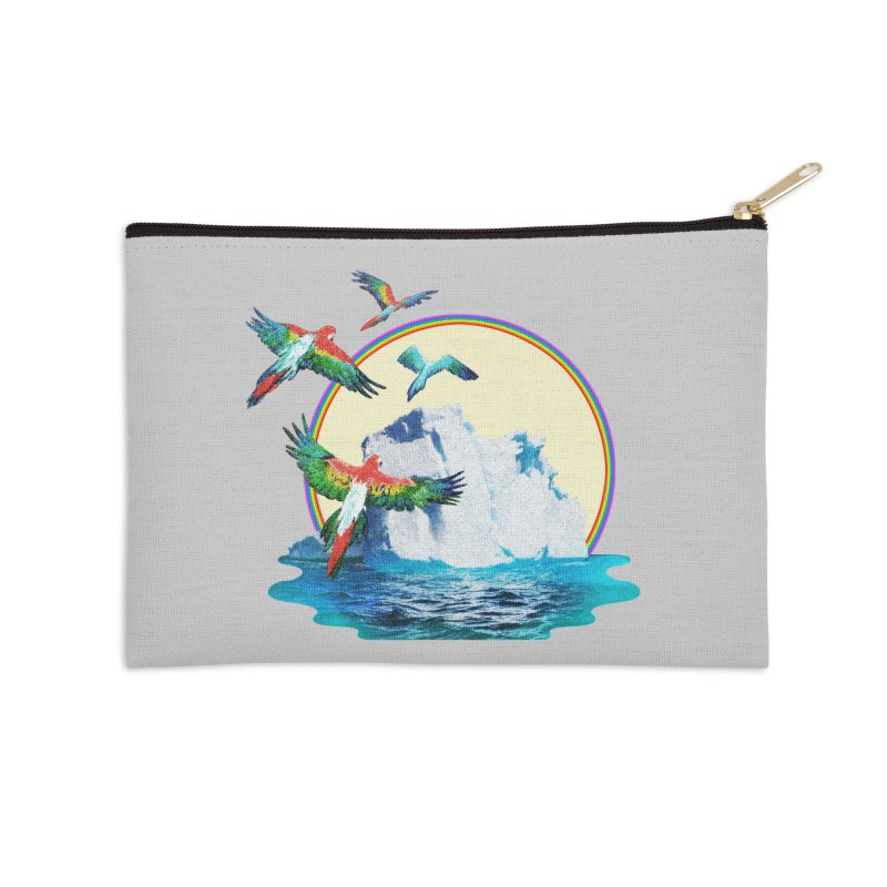 Disoriented Parrots 1 Accessories Zip Pouch by AlmostGone