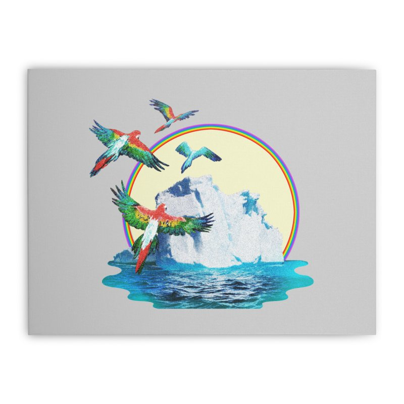 Disoriented Parrots 1 Home Stretched Canvas by AlmostGone