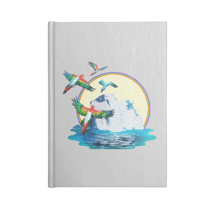 Disoriented Parrots 1 Accessories Notebook by AlmostGone