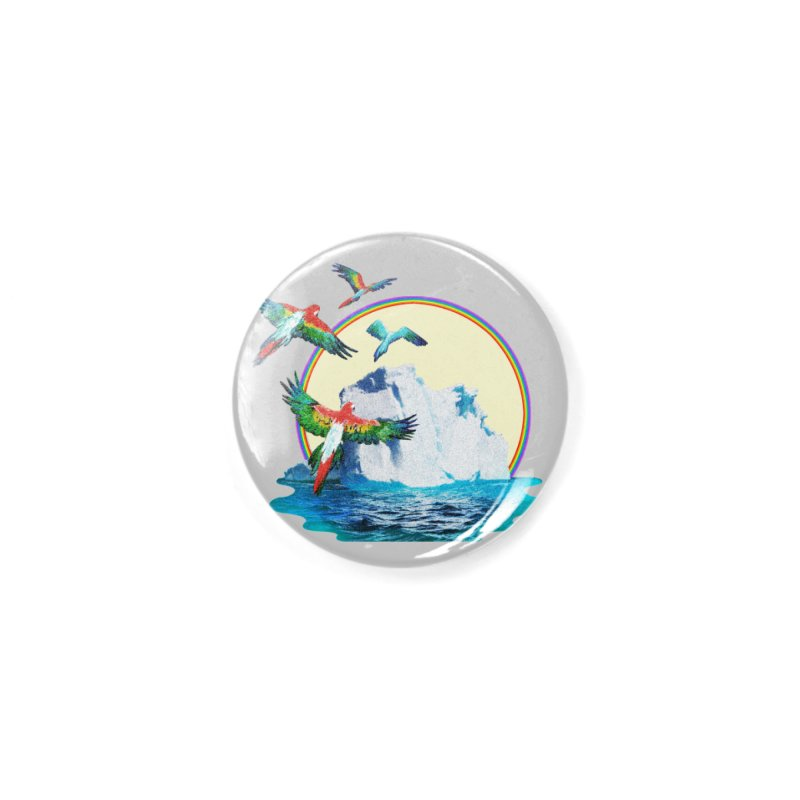 Disoriented Parrots 1 Accessories Button by AlmostGone