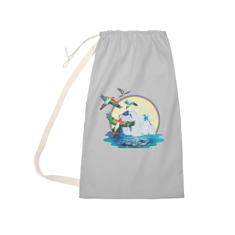 Disoriented Parrots 1 Accessories Bag by AlmostGone