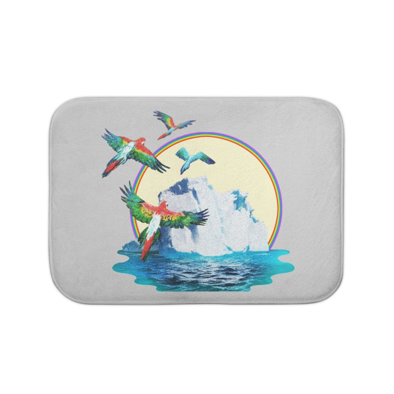 Disoriented Parrots 1 Home Bath Mat by AlmostGone