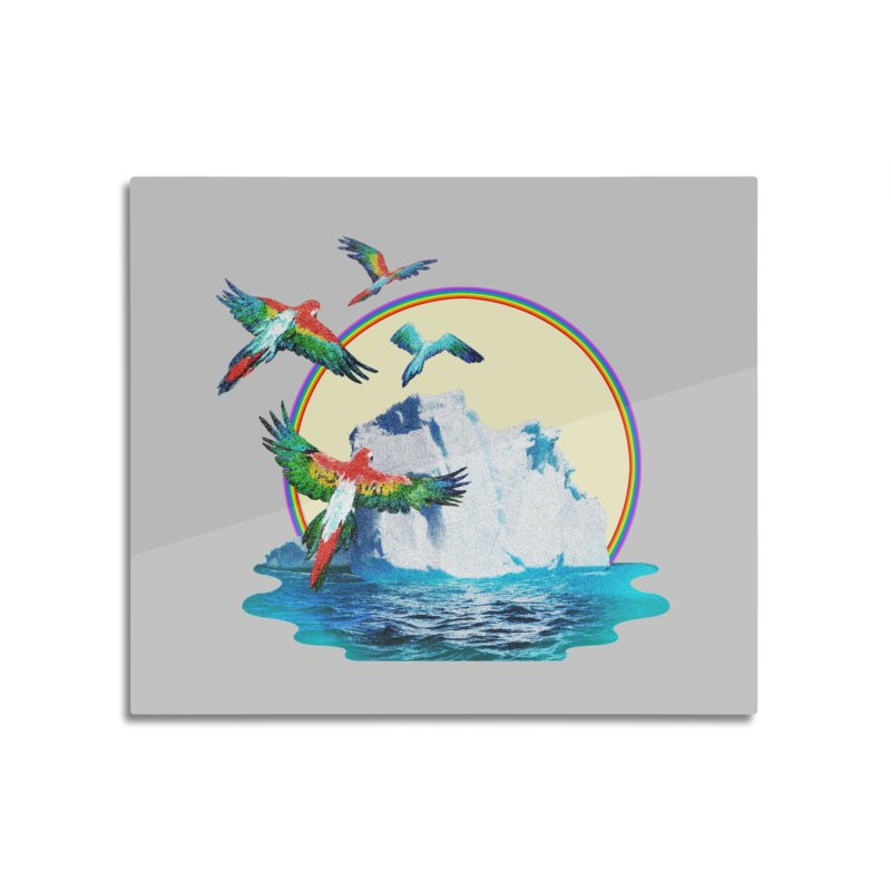 Disoriented Parrots 1 Home Mounted Acrylic Print by AlmostGone