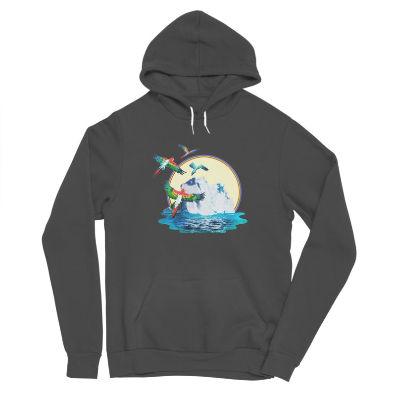 Disoriented Parrots 1 Women's Pullover Hoody by AlmostGone