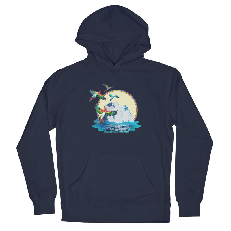 Disoriented Parrots 1 Men's Pullover Hoody by AlmostGone