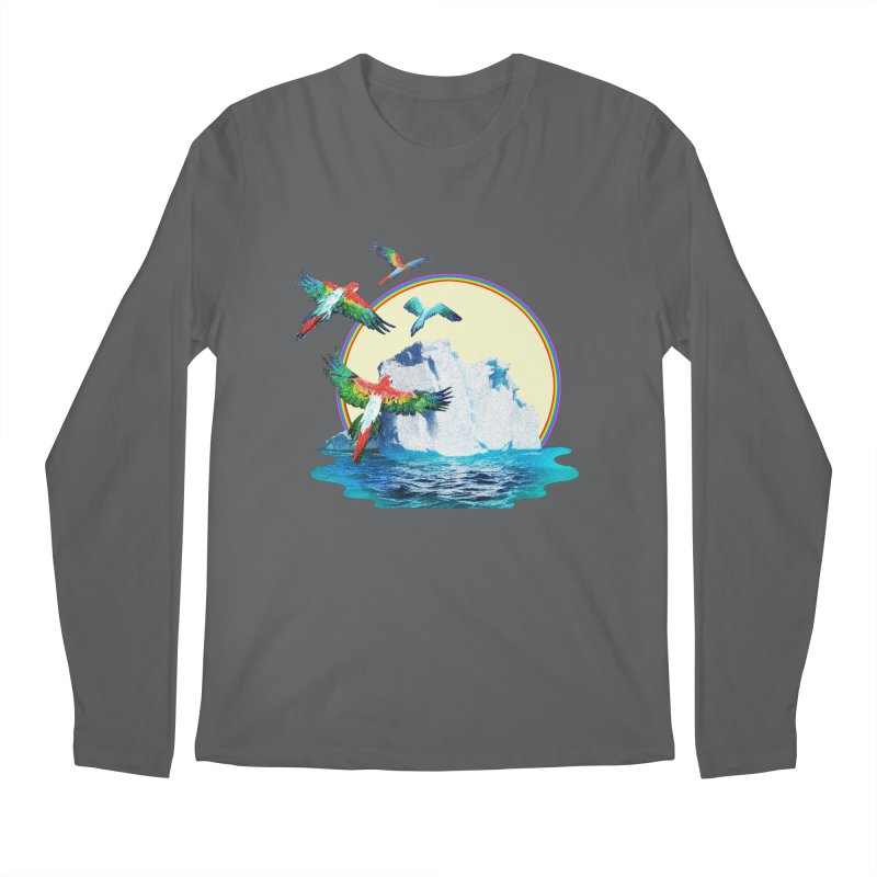 Disoriented Parrots 1 Men's Longsleeve T-Shirt by AlmostGone
