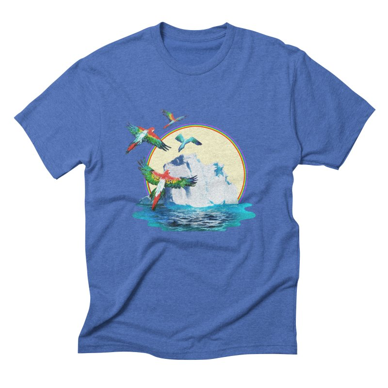 Disoriented Parrots 1 Men's T-Shirt by AlmostGone
