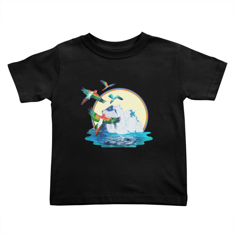 Disoriented Parrots 1 Kids Toddler T-Shirt by AlmostGone