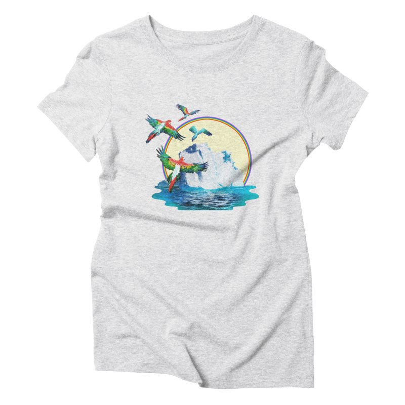 Disoriented Parrots 1 Women's T-Shirt by AlmostGone