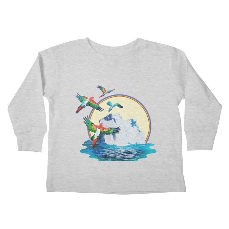 Disoriented Parrots 1 Kids Toddler Longsleeve T-Shirt by AlmostGone