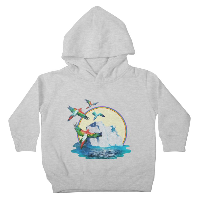 Disoriented Parrots 1 Kids Toddler Pullover Hoody by AlmostGone