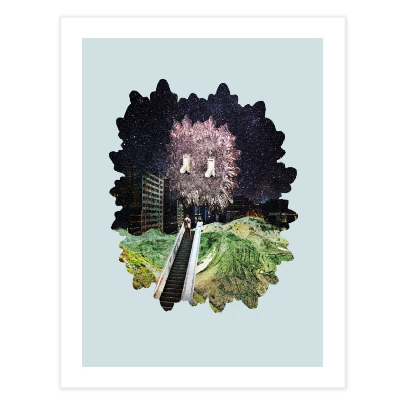 Light and Day Home Fine Art Print by AlmostGone