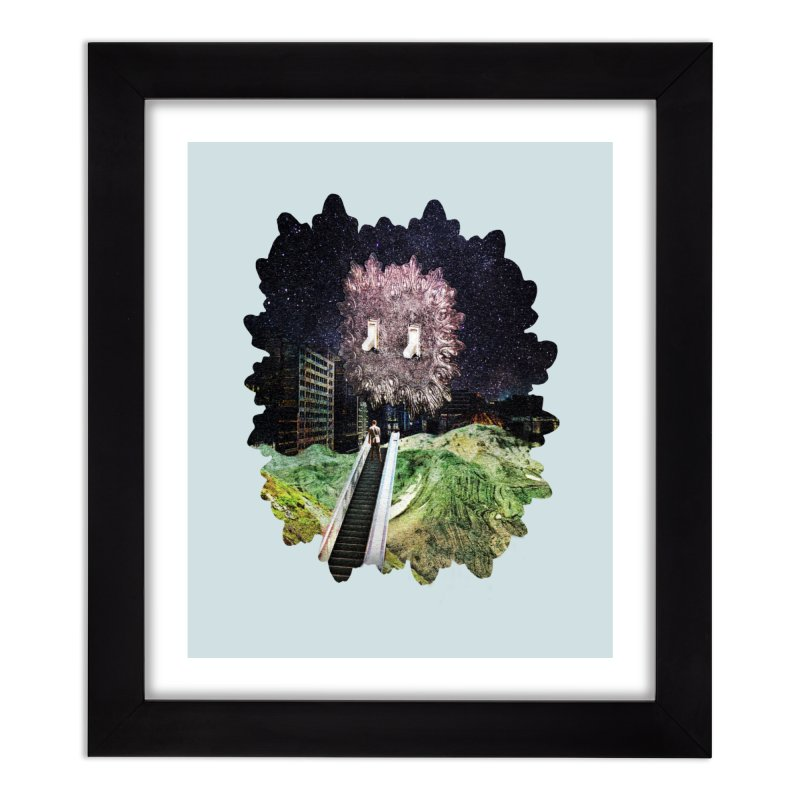 Light and Day Home Framed Fine Art Print by AlmostGone