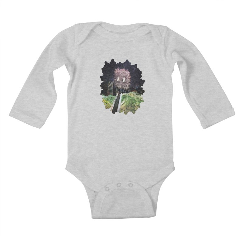 Light and Day Kids Baby Longsleeve Bodysuit by AlmostGone