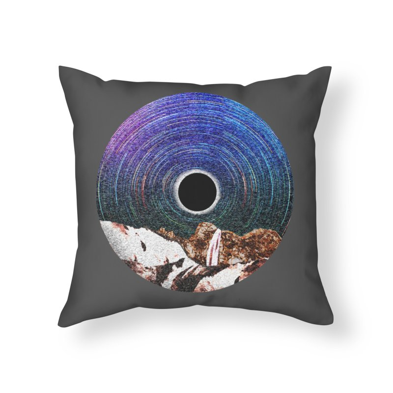Young Moon Home Throw Pillow by AlmostGone