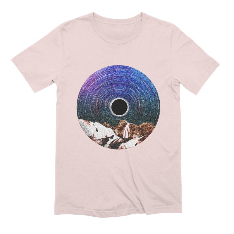 Young Moon Men's T-Shirt by AlmostGone