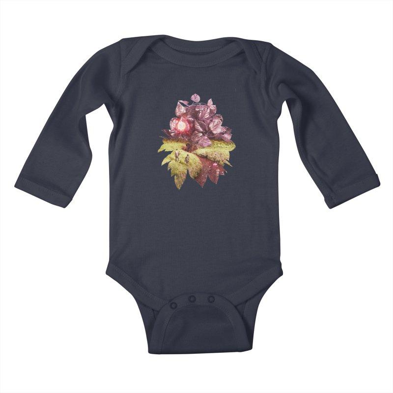 SpringTime Kids Baby Longsleeve Bodysuit by AlmostGone