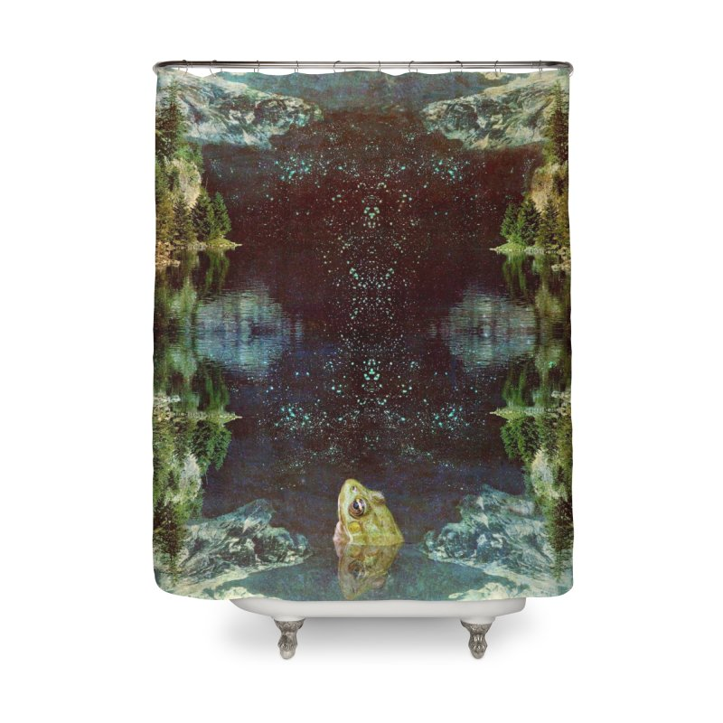 Black River Home Shower Curtain by AlmostGone