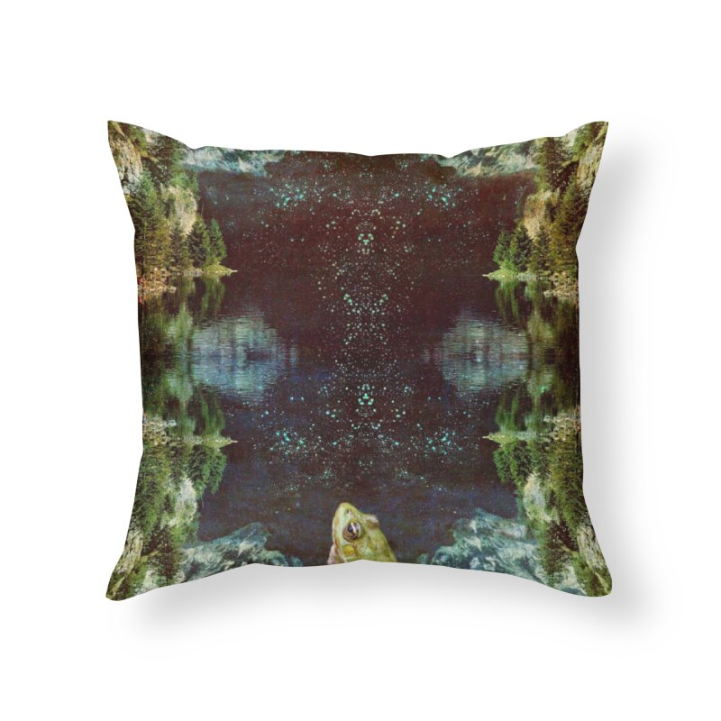 Black River Home Throw Pillow by AlmostGone