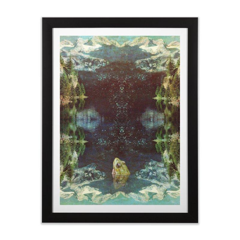 Black River Home Framed Fine Art Print by AlmostGone