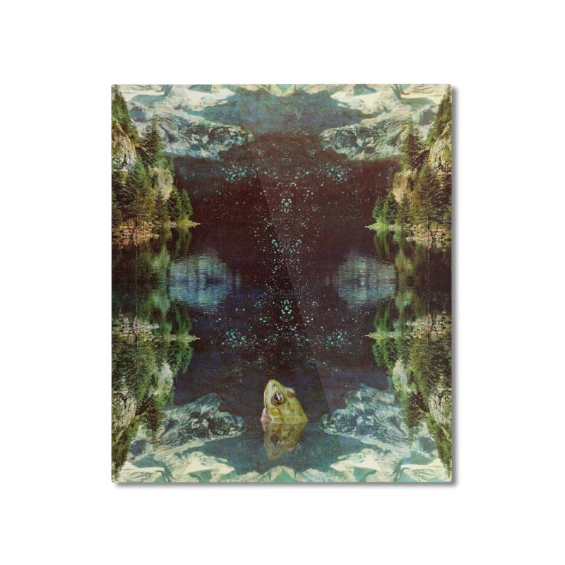 Black River Home Mounted Aluminum Print by AlmostGone