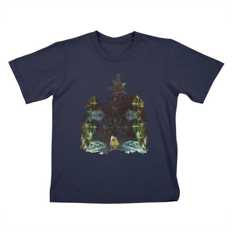 Black River Kids T-Shirt by AlmostGone