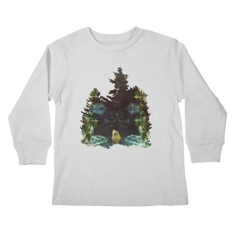 Black River Kids Longsleeve T-Shirt by AlmostGone