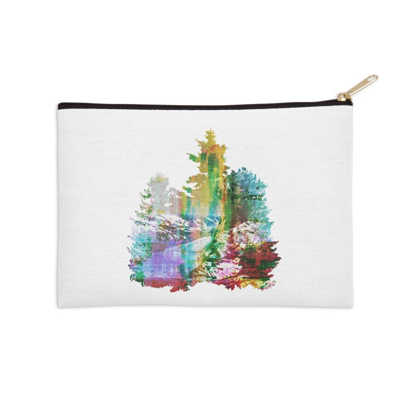 Neon river Accessories Zip Pouch by AlmostGone
