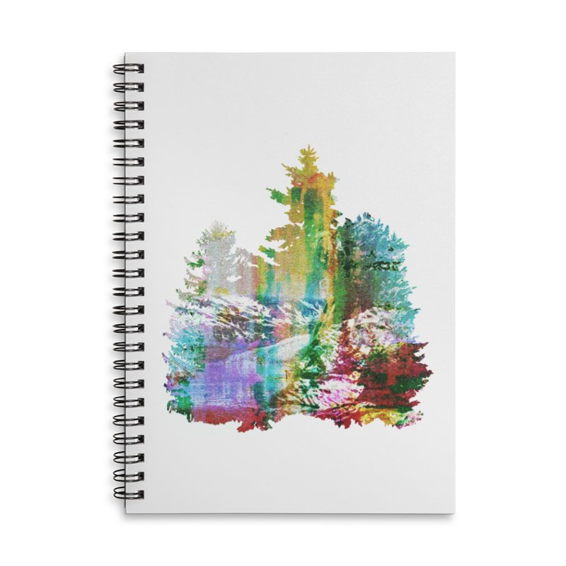Neon river Accessories Notebook by AlmostGone