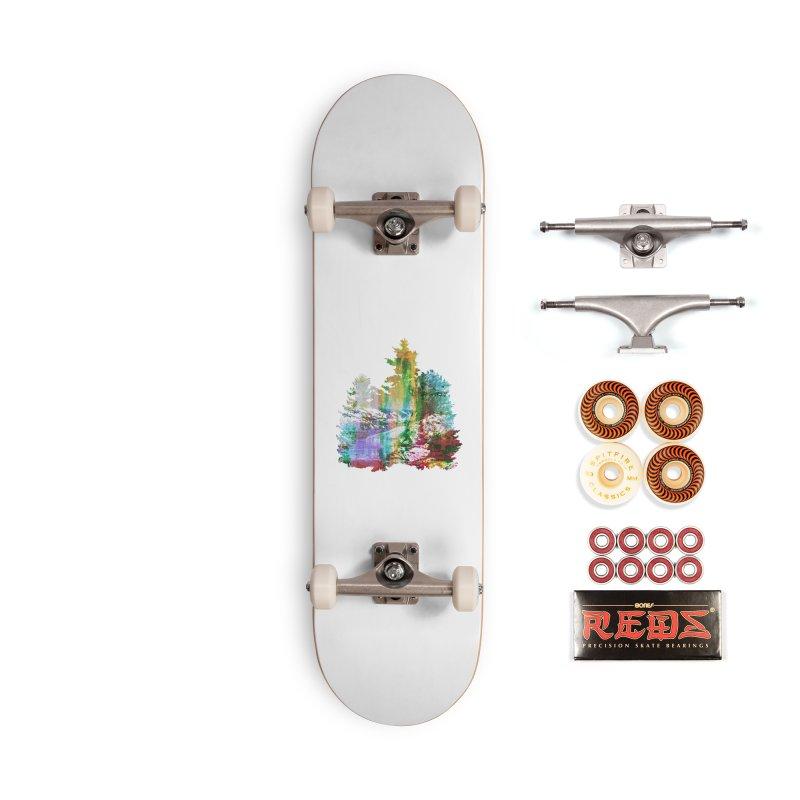 Neon river Accessories Skateboard by AlmostGone