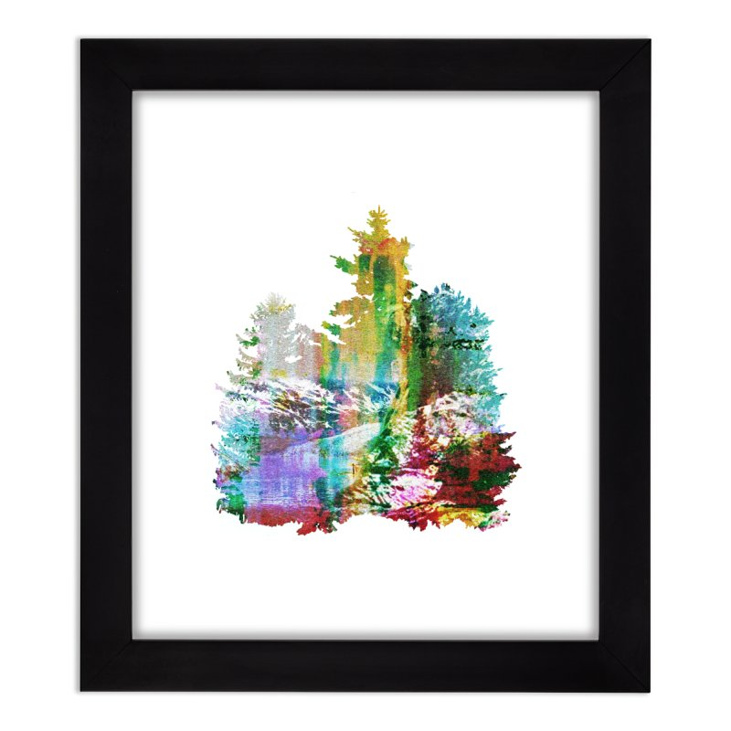 Neon river Home Framed Fine Art Print by AlmostGone