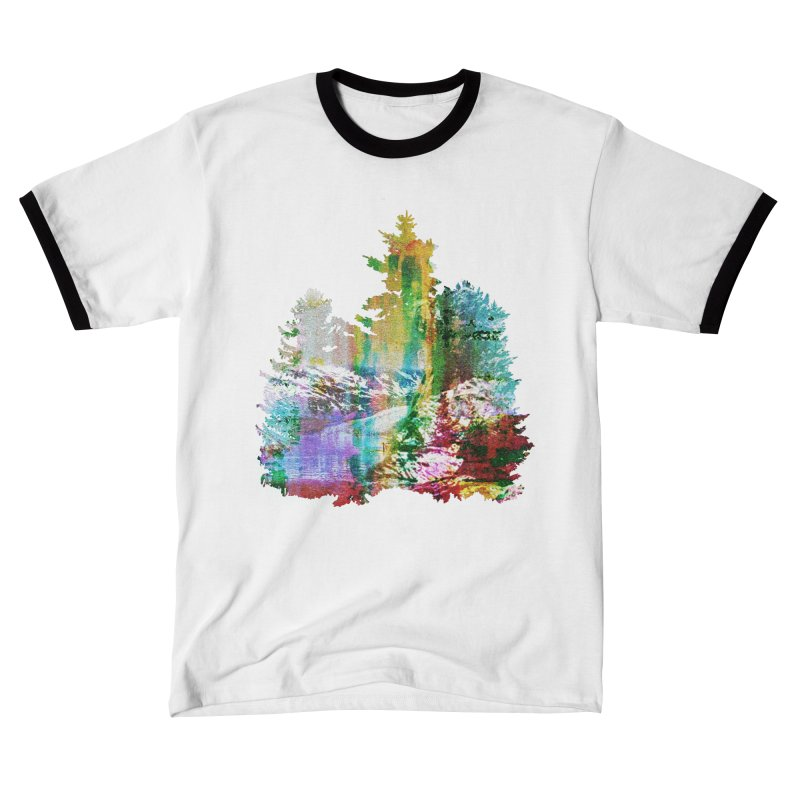 Neon river Men's T-Shirt by AlmostGone
