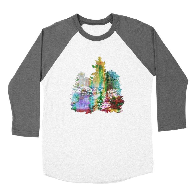 Neon river Women's Longsleeve T-Shirt by AlmostGone