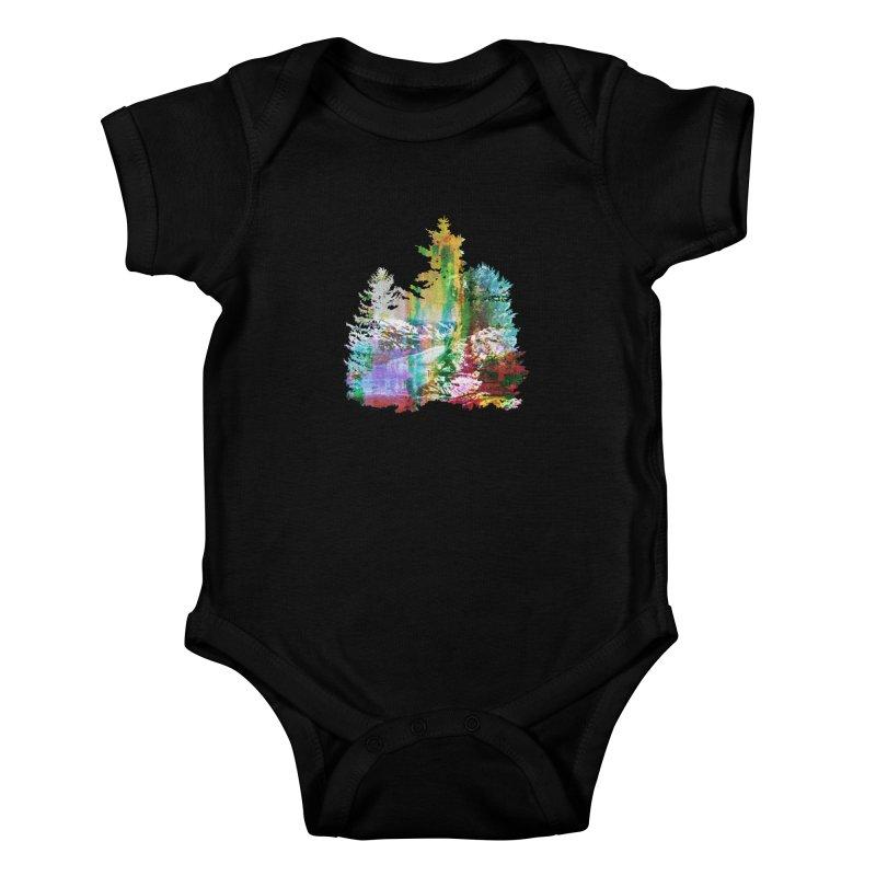 Neon river Kids Baby Bodysuit by AlmostGone