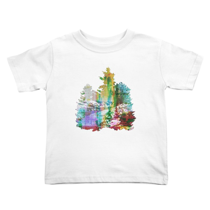 Neon river Kids Toddler T-Shirt by AlmostGone