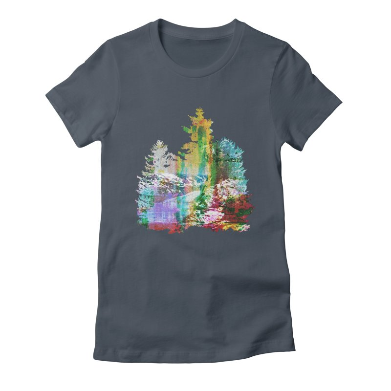 Neon river Women's T-Shirt by AlmostGone
