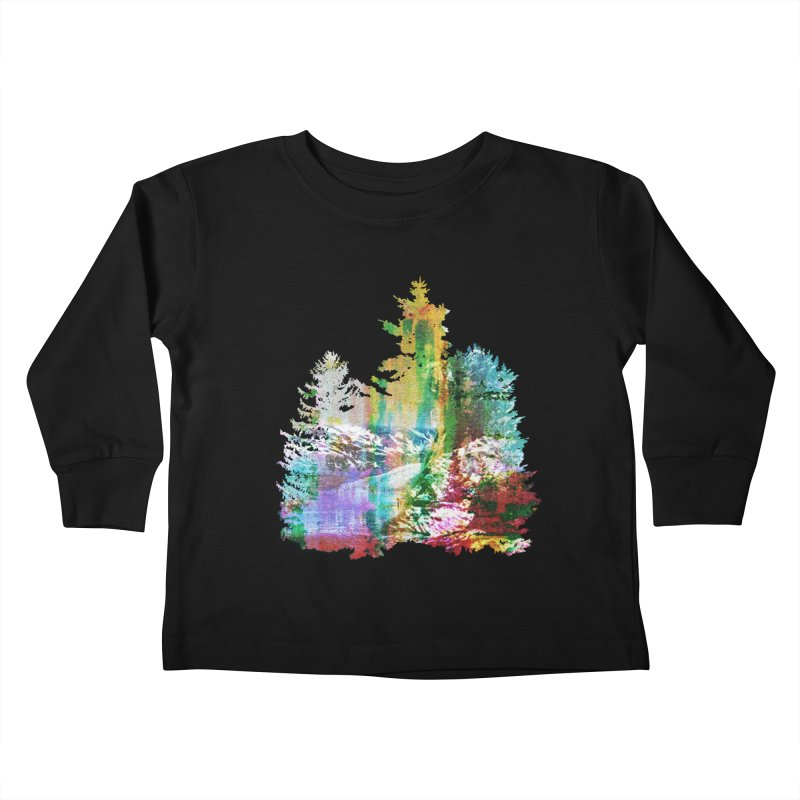 Neon river Kids Toddler Longsleeve T-Shirt by AlmostGone