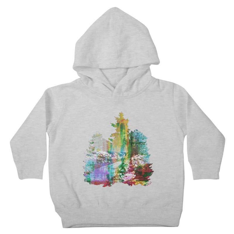 Neon river Kids Toddler Pullover Hoody by AlmostGone